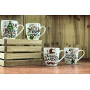 New Bone China Christmas Mugs with Gift Box