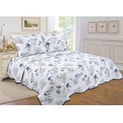 King Size Quilt Set with Coastal Prints