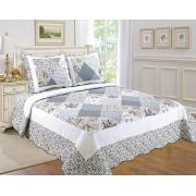 #512-102,  King Size Quilt Set with Bordered Prints